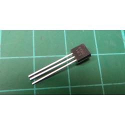Transistor: NPN, bipolar, 30V, 100mA, 350 / 1W, TO92, 10dB