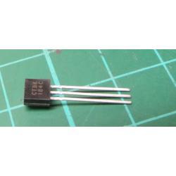 Transistor: NPN, bipolar, 30V, 100mA, 350 / 1W, TO92, 4dB