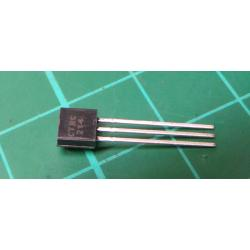 Transistor: PNP, bipolar, 30V, 100mA, 350 / 1W, TO92, 2dB