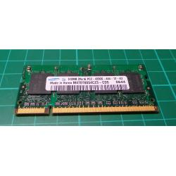 USED SODIMM, 512MB, DDR2-533, PC2-4200