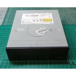 Used, CD rom, IDE, Black