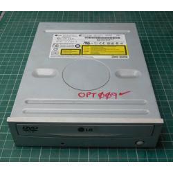 USED, CD rom, IDE, white