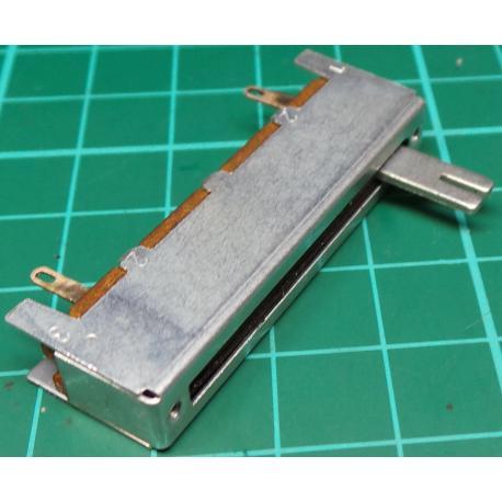 Slider, 10K, Log, 45x12x10mm, Old Stock