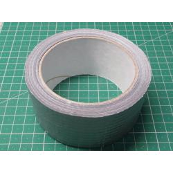 Adhesive tape universal with textile 48mm x 25m, silver