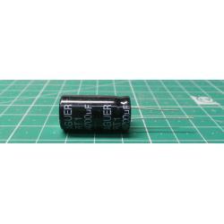 4700u / 16V 105 ° 13x25x7,5mm, electrolytic capacitor radial