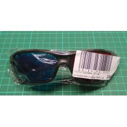 D Glasses Red Blue Black Frame For Dimensional Anaglyph TV Movie DVD Game FO