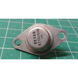 Thyristor KT110/600, 600V, 3A, TO66