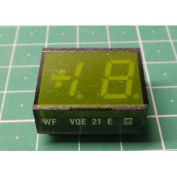 VQE21E Display +1.8., Green, RFT