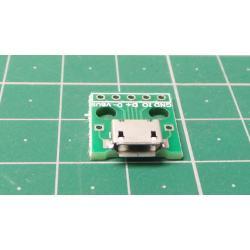 USB micro, PCB socket