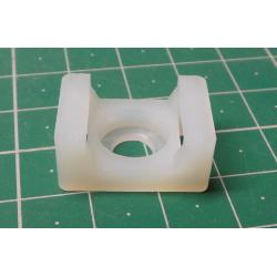 Cable tie holder CTH-2B white