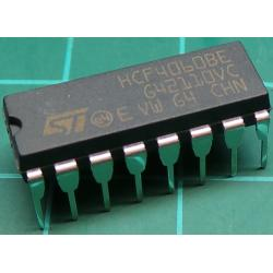 4060, 14 Stage Ripple-Carry Binary Counter/Divider and Oscillator