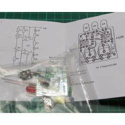 12V Battery Level Measuring Circuit, Traffic Light LED's