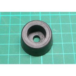 Rubber foot, diameter 30mm, height 18mm