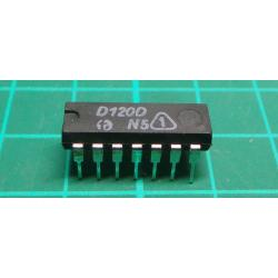 D120D - 2x 4input NAND, DIL14 / MH7420 /