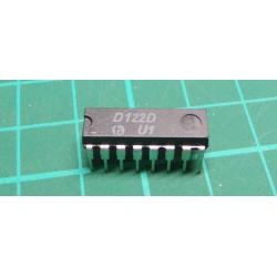 D122D - reading amplifier for ferrite memories, DIL16