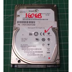 Used, Hard Disk, Laptop, 160GB
