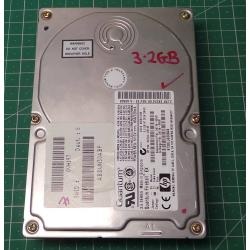 Used hard disk, Deskop, 3.2GB