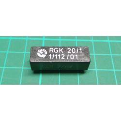 Rele jazyckove RGK20/1, 12V