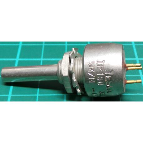 Potentiometer, 5M, Lin, THT, 6x22mm Shaft