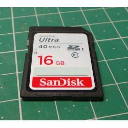 SD, 16GB, Class 10