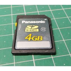 SD, 4GB, Class 10