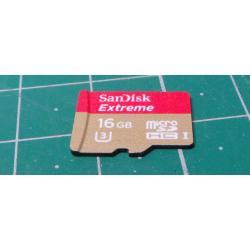Micro SD, 16GB, Class 30