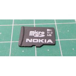 Micro SD 512 MB, Class 2