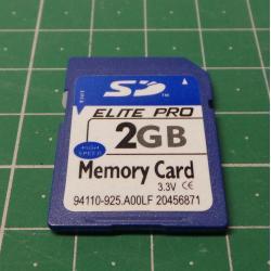 SD, 2GB, Class 6