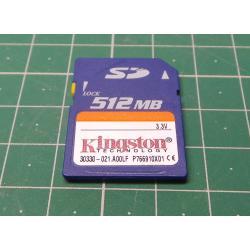 SD, 512MB, Class 2