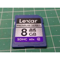 SD, 8GB, Class 4