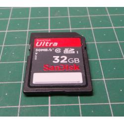 SD, 32GB, Class 10