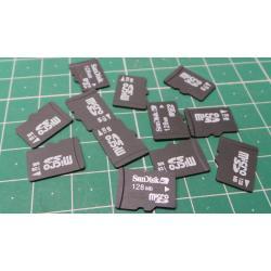 Micro SD, 128MB, Class 2