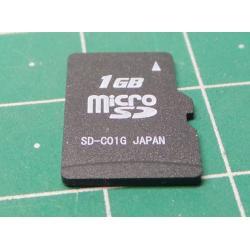 Micro SD, 1GB, Class 6