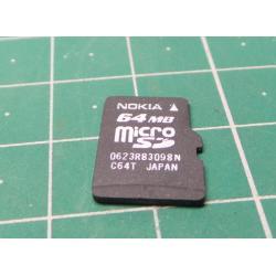 Micro SD, 64MB, Class 2