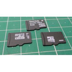 Micro SD, 8GB, Class 6