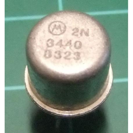 NPN Transistor, 2N3440, 300V, 1A, 10W