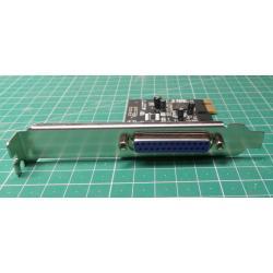 1 port EPP/ECP, PCI - express parallel card