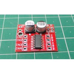 Driver,řadič pro 2 DC motorky 2-10V, modul PWM MOS