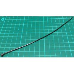 Cable Tie, 2.5x200mm, Black (UV Resistant)
