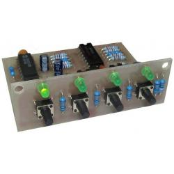 Switch of audio inputs to amplifier CONSTRUCTION