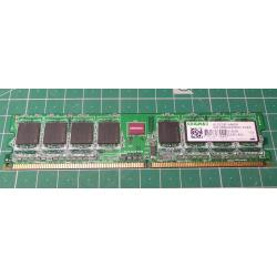 USED, DIMM, DDR2-800, PC2, 512MB