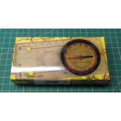 Compass - compass with ruler and magnifying glass