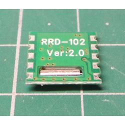 FM receiver for Arduino module RRD102 V2.0 / IO RDA5807M /
