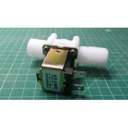 """12V Electric Solenoid Valve Magnetic DC N/C Water Air Inlet Flow Switch 1/2"""" Ho"""