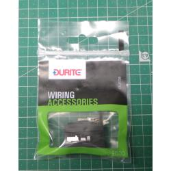 Car fuse holder stackable, mounting hole, durite