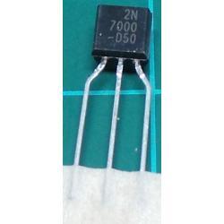 2N7000, N Channel FET, 60V, 0.2A, 0.4W