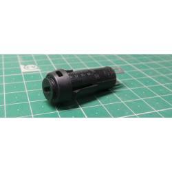 Fuse holder, Panel mount, 5x20mm