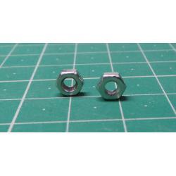 NUT, M3, 5.5mm Spanner