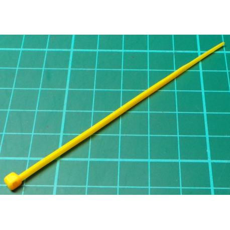 Cable Tie, 2.5x100mm, Yellow