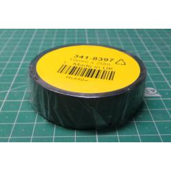 Insulating tape 0,13x15mmx10m ANTICOR - Black